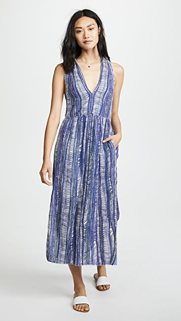 Raquel Allegra Gauze Twist Dress