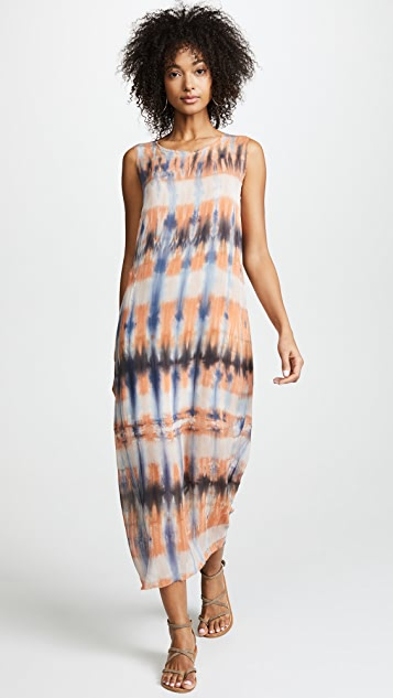 Raquel Allegra Combo Muscle Tee Dress