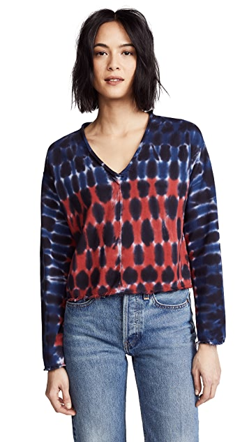 Raquel Allegra V Neck Pop Over