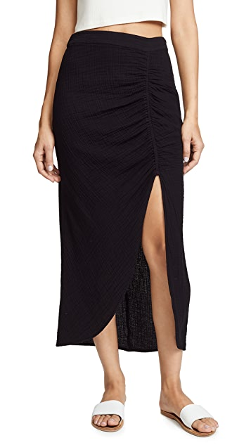 Raquel Allegra Slit Skirt