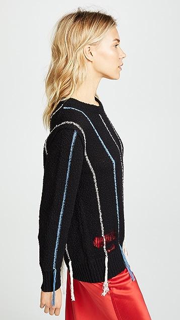 Raquel Allegra Crew Neck Sweater
