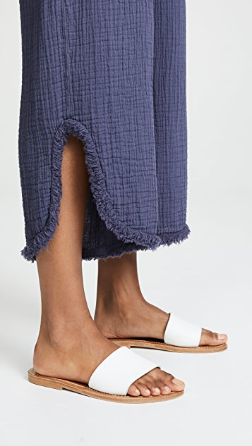 Raquel Allegra Cut Out Pants