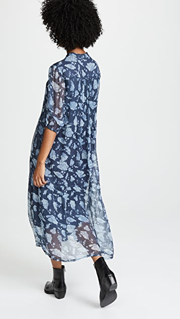 Raquel Allegra Peasant Tiered Dress