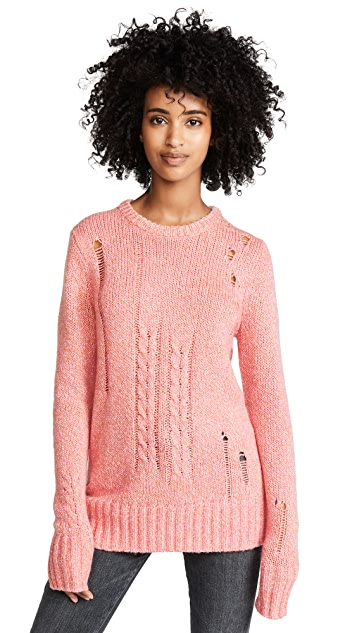 Raquel Allegra Crew Neck Sweater
