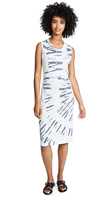 Raquel Allegra Muscle Tee Slip Dress