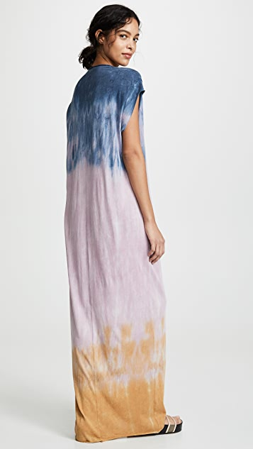 Raquel Allegra Tie Dye Caftan