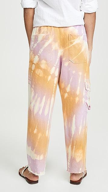 Raquel Allegra Шелковые спортивные брюки с карманами