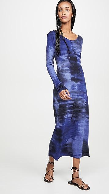 Raquel Allegra 修身长袖连衣裙