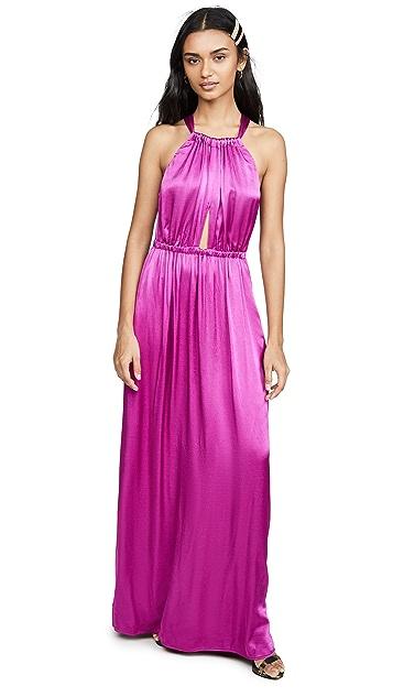 Raquel Allegra Keyhole Dress