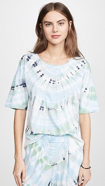 Raquel Allegra 基本款扎染 T 恤