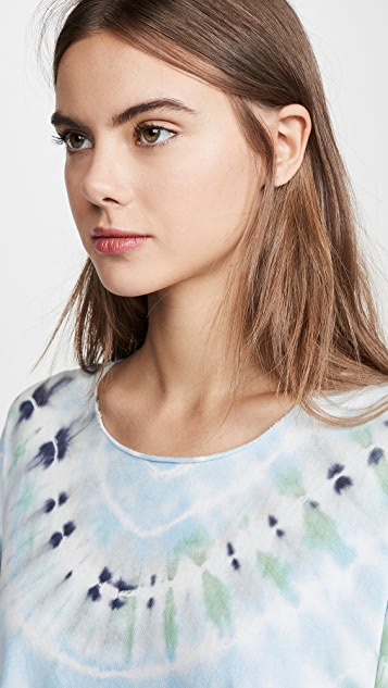 Raquel Allegra Basic Tie Dye Tee
