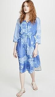 Raquel Allegra Poet Combo Dress