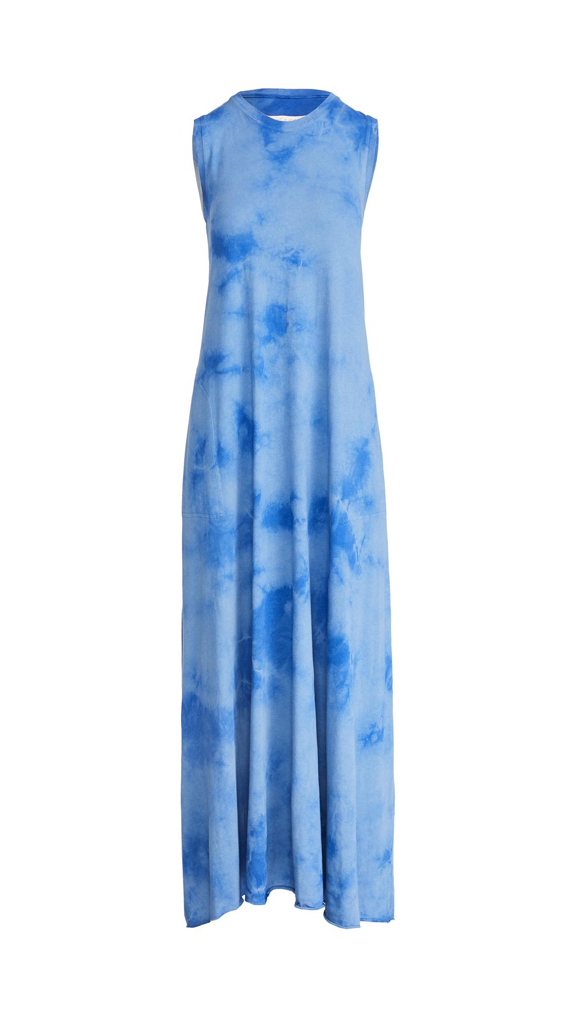 Raquel Allegra Sleeveless Drama Maxi Dress
