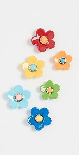 Roxanne Assoulin - Flower Power Set of Stud Earrings