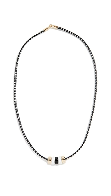 Roxanne Assoulin Little Bits Black and White Necklace