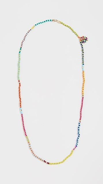 Roxanne Assoulin Patchwork Beaded Necklace