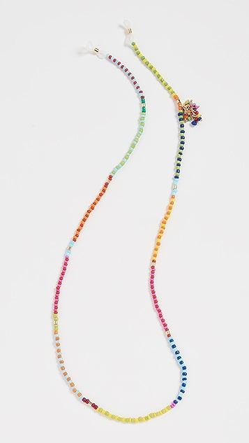 Roxanne Assoulin 拼接珠饰眼镜挂链