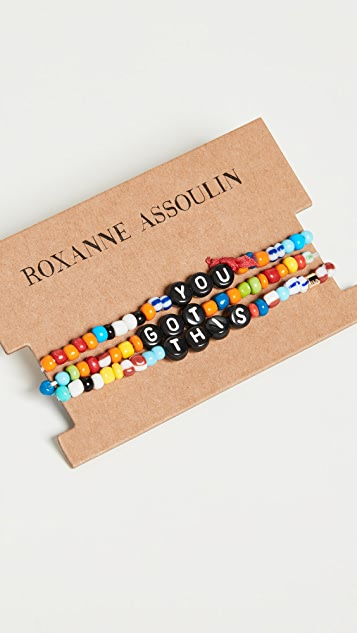 Roxanne Assoulin Camp Bracelets - You Got This