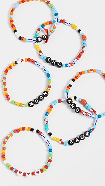 Roxanne Assoulin Camp Bracelets - To The Moon And Back