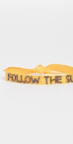 Roxanne Assoulin - Tie One On Yellow 手链