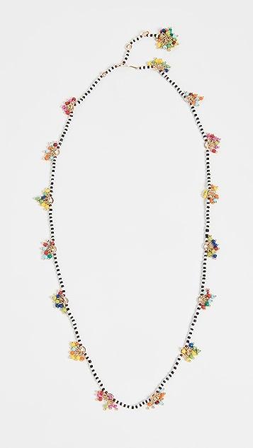 Roxanne Assoulin Dangle & Fringe Beaded 4-way Necklace