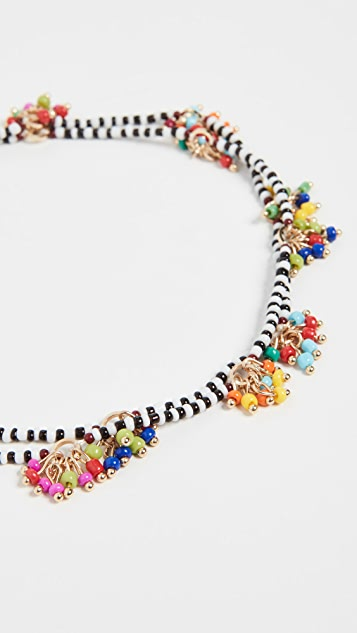Roxanne Assoulin Dangle & Fringe Beaded 4-way Necklace
