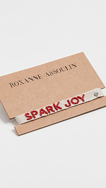 Roxanne Assoulin Браслет Spark Joy Tie One On