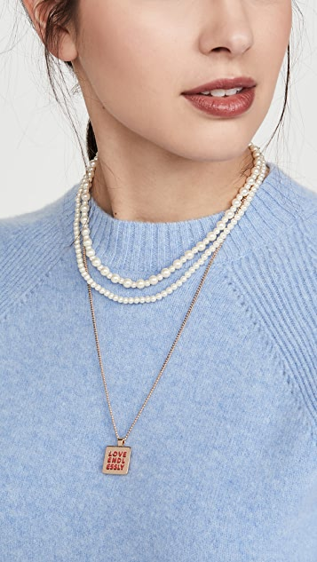 Roxanne Assoulin Love Endlessly Happy Thoughts Necklace