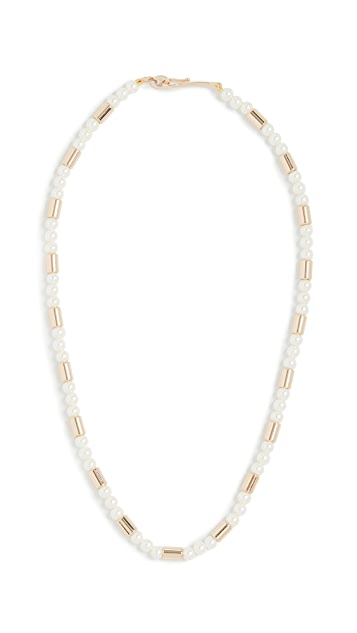 Roxanne Assoulin On Glass Pearl Necklace