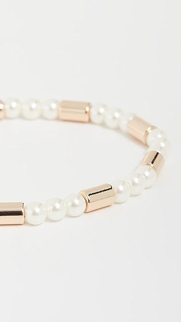 Roxanne Assoulin 玻璃珍珠手镯