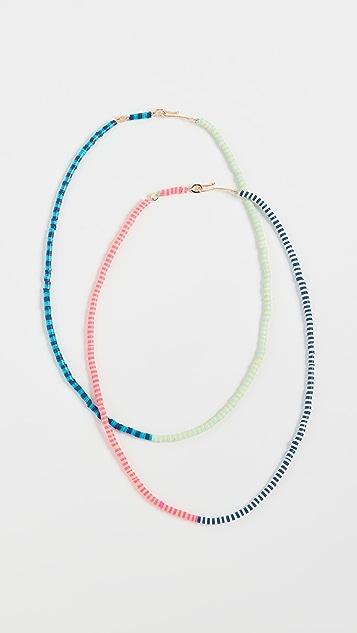 Roxanne Assoulin Happy Stripes 项链