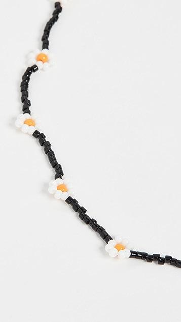 Roxanne Assoulin 雏菊黑色项链