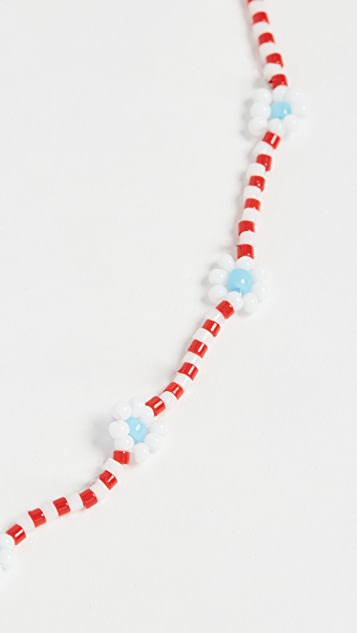 Roxanne Assoulin Daisy Red Necklace