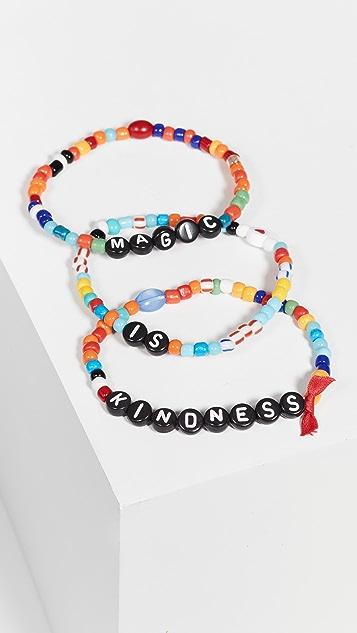 Roxanne Assoulin Kindness is Magic Camp 手链