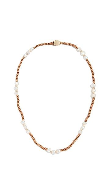 Roxanne Assoulin 海滩珍珠项链