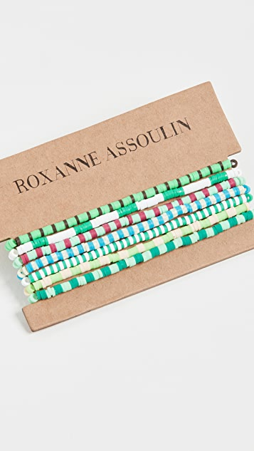 Roxanne Assoulin 色彩疗法手镯 7 件套