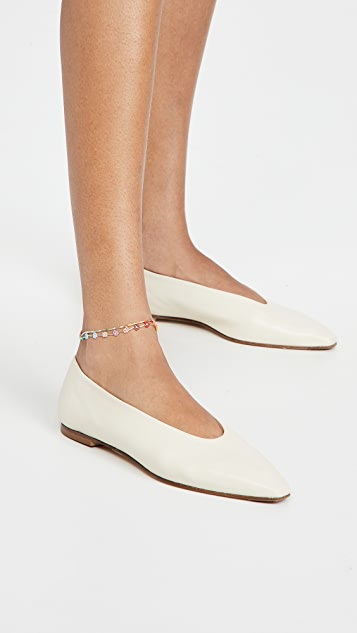 Roxanne Assoulin 两个装踝链