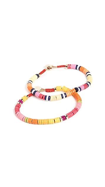 Roxanne Assoulin Tropical Punch Set of Two Bracelets