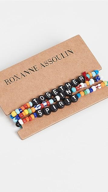 Roxanne Assoulin Together in Spirit Camp Bracelets
