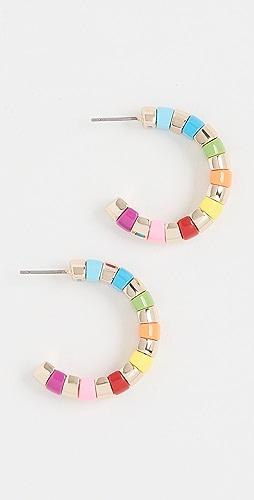 Roxanne Assoulin - Beaded Hoop Earrings