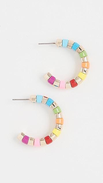 Roxanne Assoulin 饰珠圆耳环