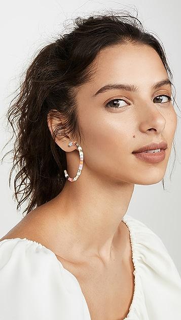 Roxanne Assoulin 淡彩色圈式耳环
