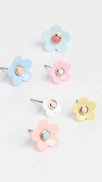 Roxanne Assoulin Flower Stud Earrings