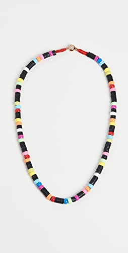 Roxanne Assoulin - Neon Heishi Donut Necklace
