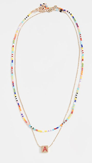 Roxanne Assoulin Set of Two Necklaces