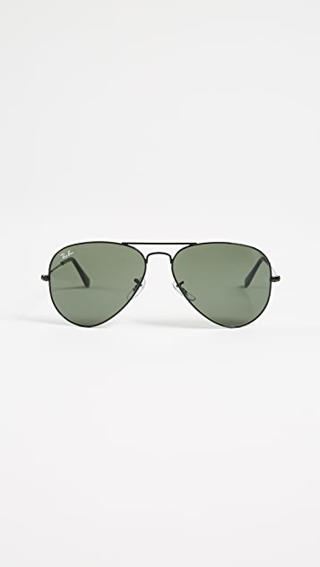ed8fa65dc77 Ray-Ban RB3025 Classic Aviator Sunglasses