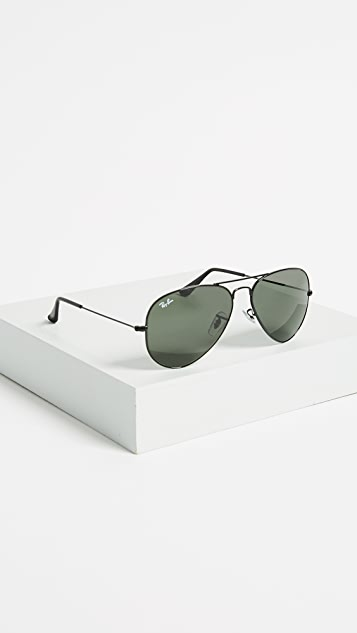 Ray-Ban RB3025 Classic Aviator Sunglasses