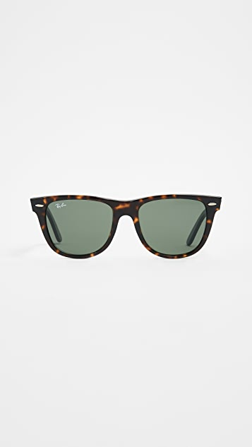 8c535708d2e Ray-Ban RB2140 Wayfarer Outsiders Oversized Sunglasses