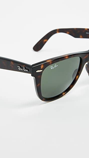 Ray-Ban RB2140 Wayfarer Outsiders Oversized Sunglasses ...