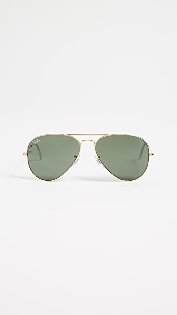 4c7e8b4600d Ray-Ban RB3025 Original Aviator Sunglasses | SHOPBOP